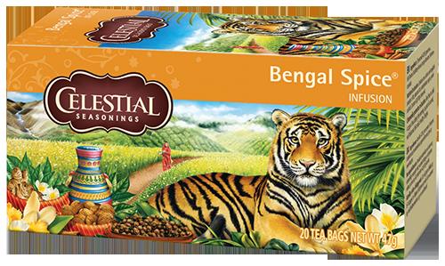 Celestial tea Bengal Spice tea bags 20pcs