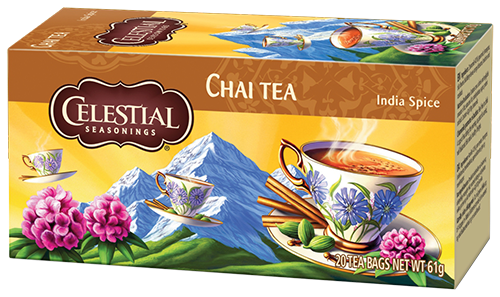 Celestial tea Original India Spice Chai tea bags 20pcs