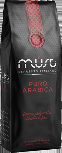 Must Puro Arabica coffee beans 1000g