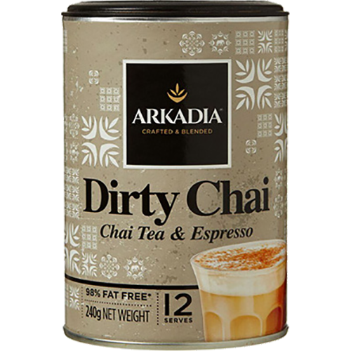 Arkadia Dirty Chai with Espresso powder 240g