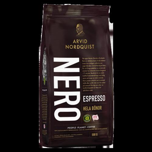 Arvid Nordquist Classic Espresso Nero coffee beans 500g