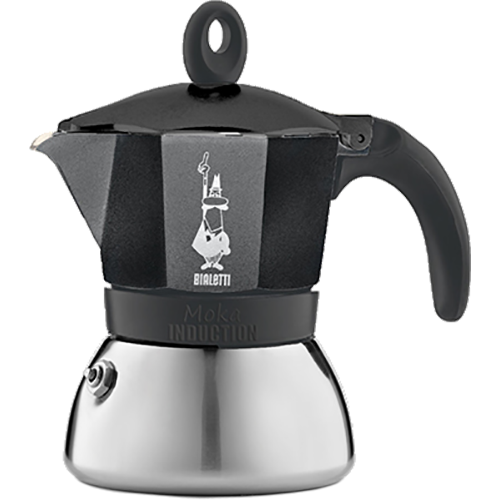 Bialetti Moka Induction black 3 cups