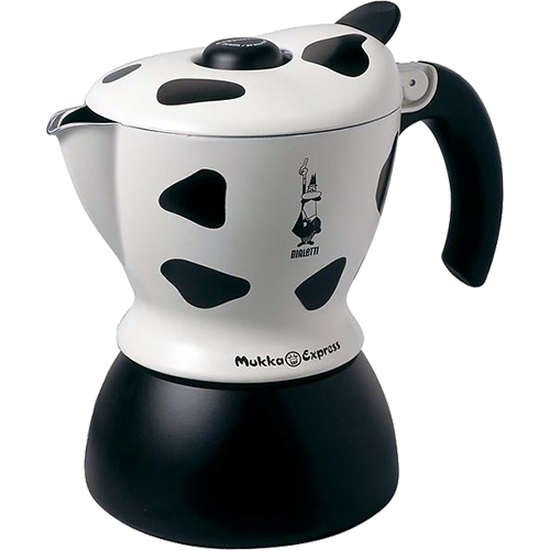 Bialetti Mukka Express Cappuccino Coffee Maker 2 cups