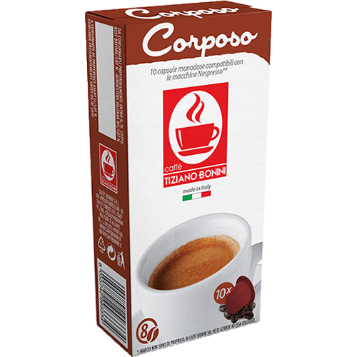 Caffè Bonini Corposo coffee capsules for Nespresso 10pcs