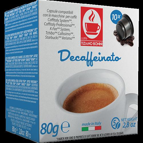Caffè Bonini Deca Caffitaly coffee capsules 10pcs