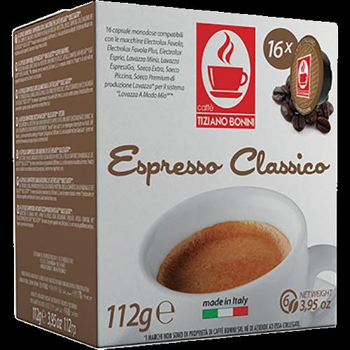Caffè Bonini Classico A Modo Mio coffee capsules 16pcs