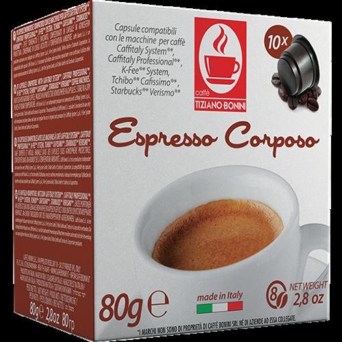 Caffè Bonini Corposo coffee pods 50pcs