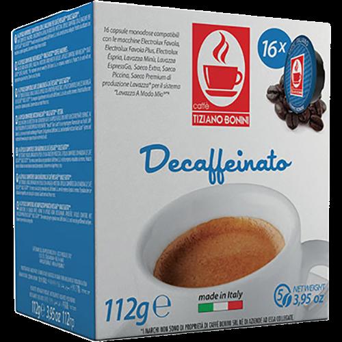 Caffè Bonini Decaffeinato A Modo Mio coffee capsules 16pcs