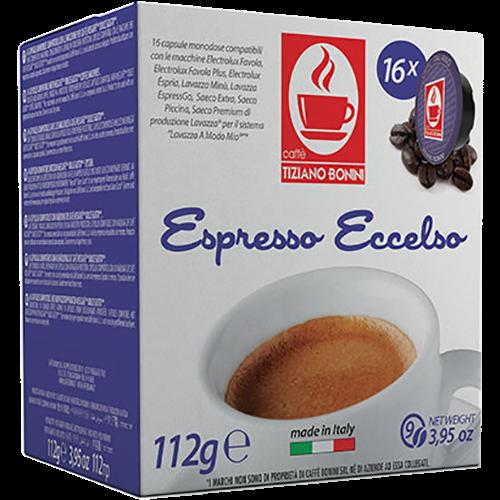 Caffè Bonini Eccelso A Modo Mio coffee capsules 16pcs