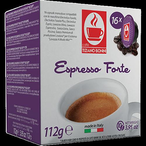 Caffè Bonini Forte A Modo Mio coffee capsules 16pcs