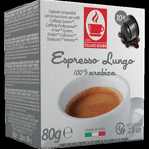 Caffè Bonini Lungo Caffitaly coffee capsules 10pcs