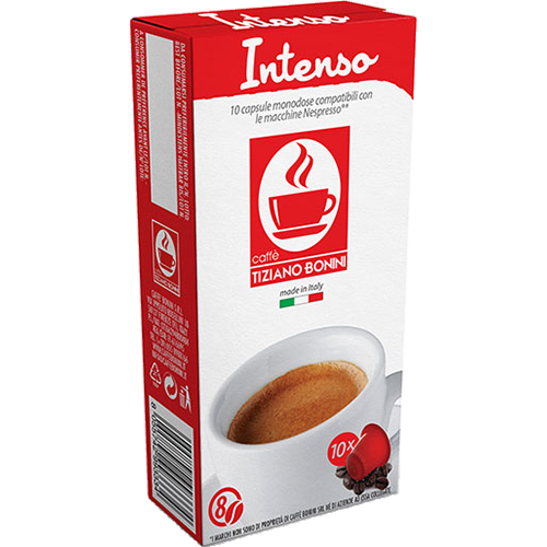 Caffè Bonini Intenso coffee capsules for Nespresso 10pcs