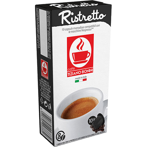Caffè Bonini Ristretto coffee capsules for Nespresso 10pcs