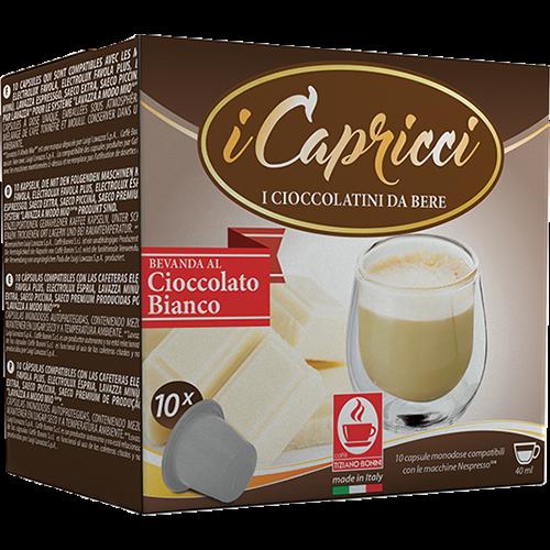 Caffè Bonini White Chocolate capsules for Nespresso 10pcs