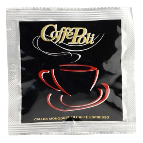 Caffè Poli SuperBar black coffee pods 18pcs