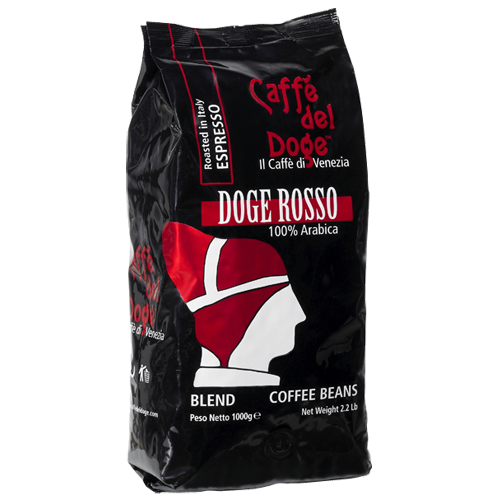 Caffè del Doge Rosso coffee beans 1000g
