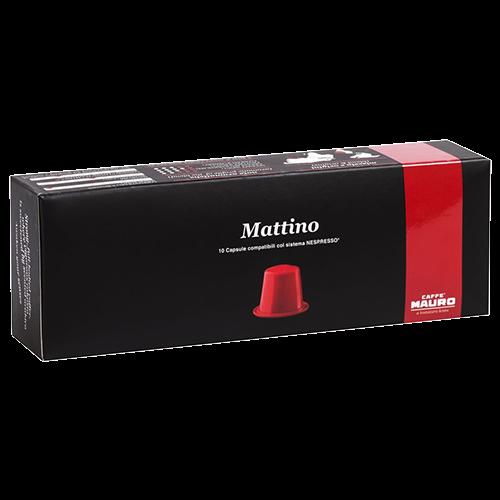 Caffè Mauro Mattino coffee capsules for Nespresso 10pcs
