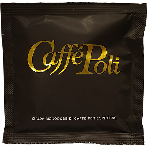 Caffè Poli SuperBar black coffee pods 18pcs