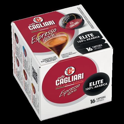 Cagliari Elite A Modo Mio coffee capsules 16pcs