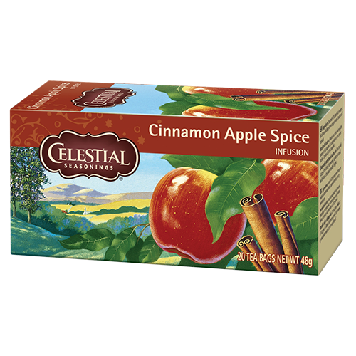 Celestial tea Cinnamon Apple Spice tea bags 20pcs