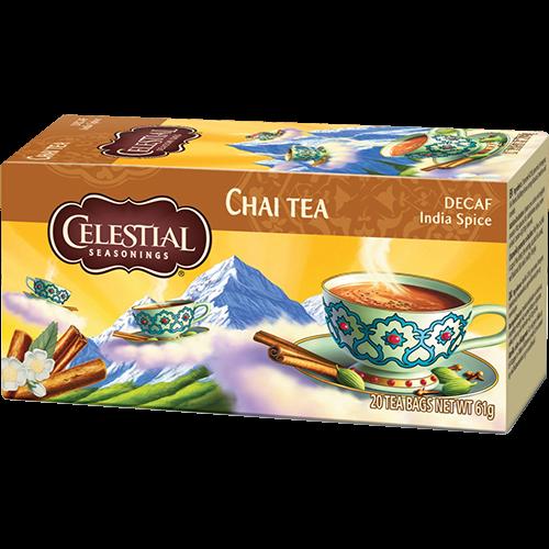 Celestial tea Decaf India Spice tea bags 20pcs