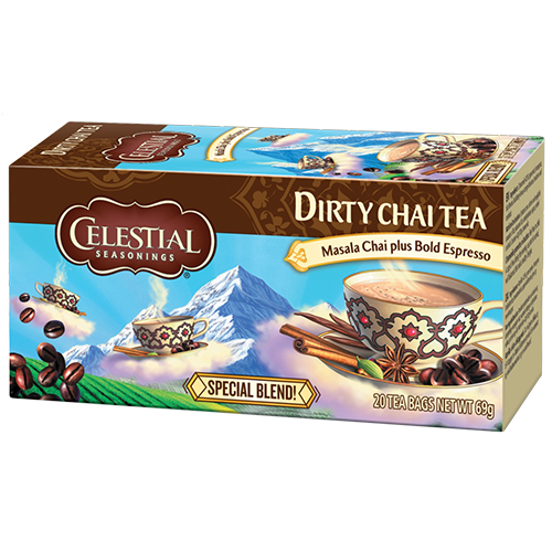 Celestial tea Dirty Chai tea bags 20pcs