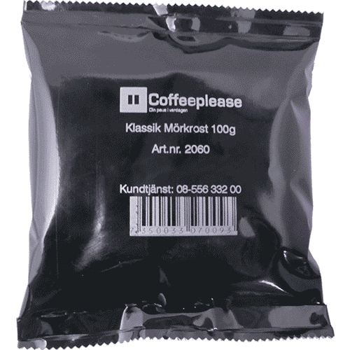 Coffeeplease darkroast ground filter coffee 100g