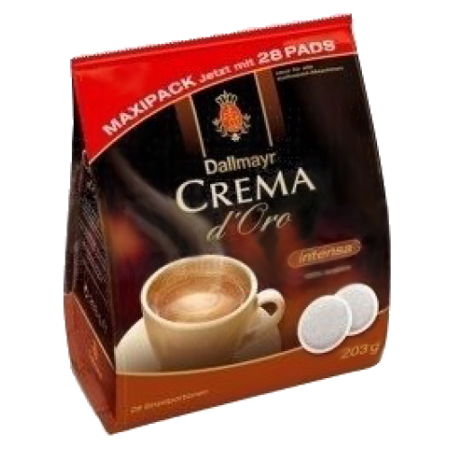 Dallmayr Crema d'Oro intensa coffee pads 28pcs