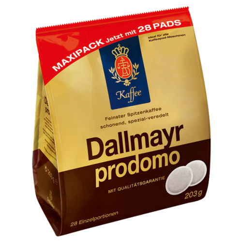 Dallmayr Prodomo coffee pads 28pcs