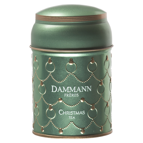 Dammann Frères Green Christmas Tea in loose weight 100g