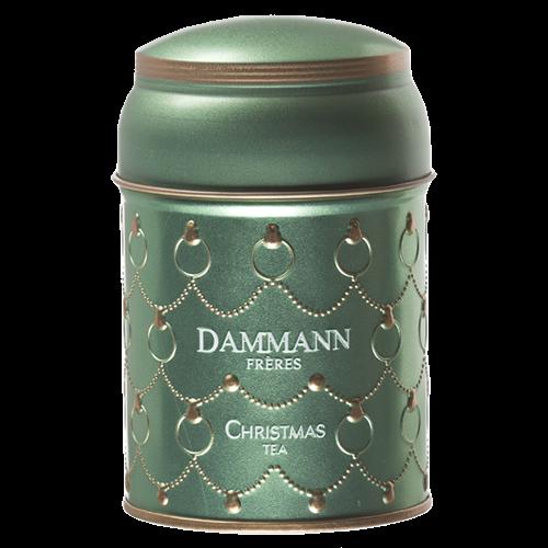 Dammann Frères Green Christmas Tea in loose weight 100g