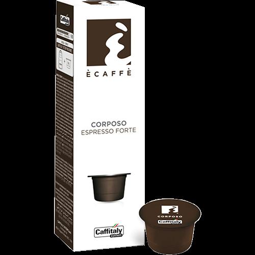 Ècaffè Corposo Caffitaly coffee capsules 10pcs