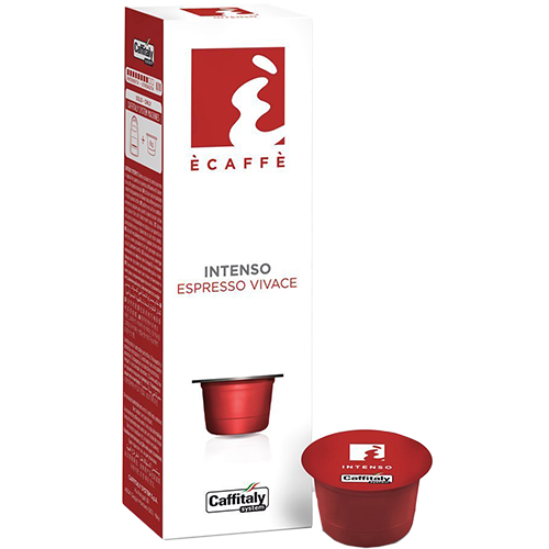 Ècaffè Intenso Caffitaly coffee capsules 10pcs