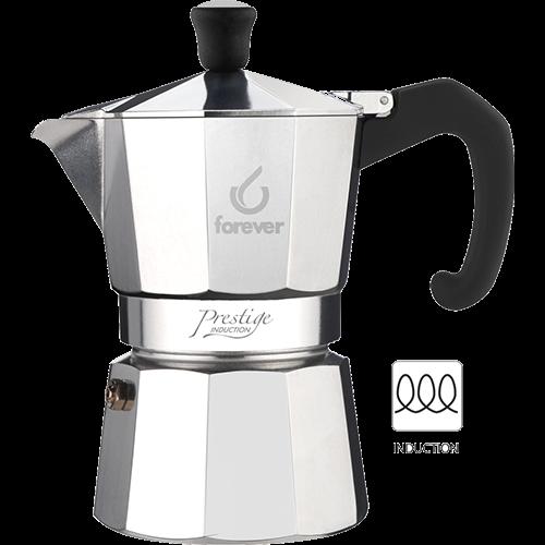 Forever Prestige Espresso Coffee Maker Induction 3 cups