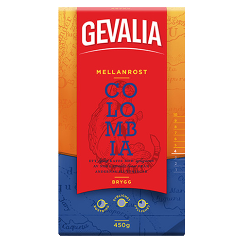 Gevalia Colombia ground coffee 450g