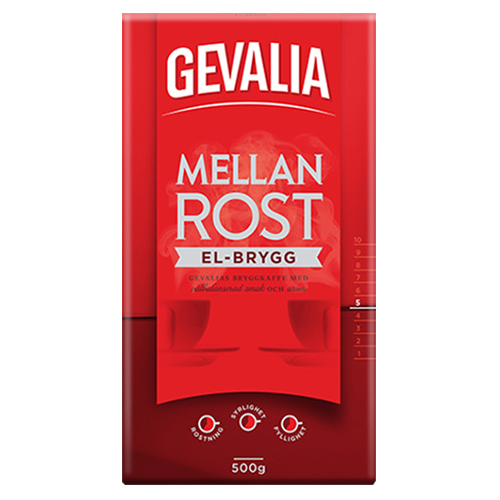 Gevalia El-brew ground coffee 500g