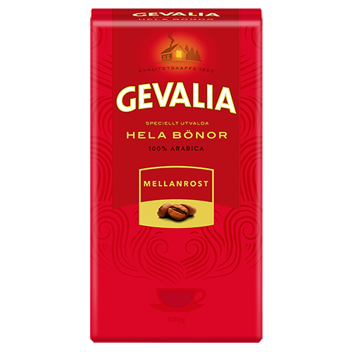 Gevalia Medium Roast coffee beans 500g