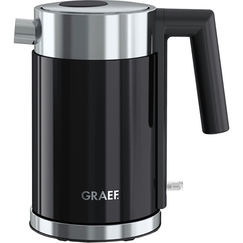 Graef water boiler black 1 liter WK402