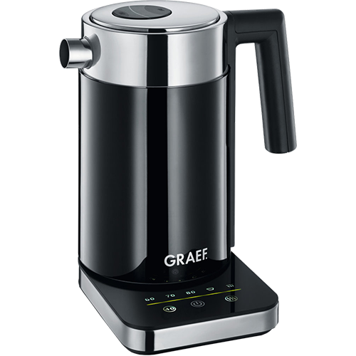 Graef water boiler black 1 liter WK502