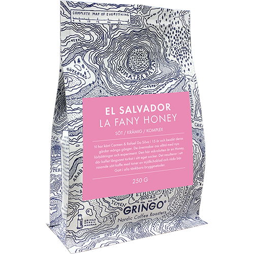 Gringo El Salvador la Fany Honey coffee beans 250g