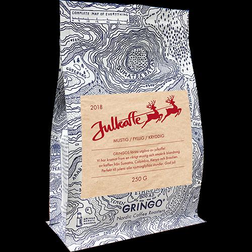 Gringo Christmas coffee 2018 ground coffee 250g