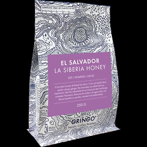 Gringo El Salvador La Siberia Honey coffeebeans 250g