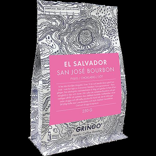 Gringo El Salvador San José Bourbon coffee beans 250g