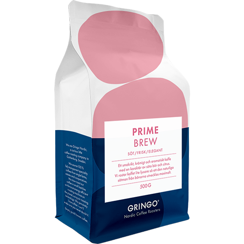 Gringo Prime Brew coffee beans 500g