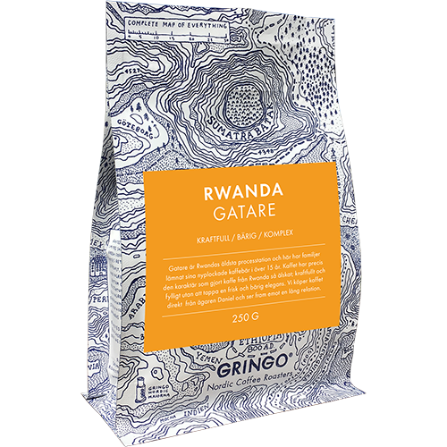 Gringo Rwanda Gatare coffee beans 250g