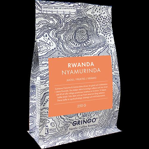 Gringo Rwanda Nyamurinda coffee beans 250g