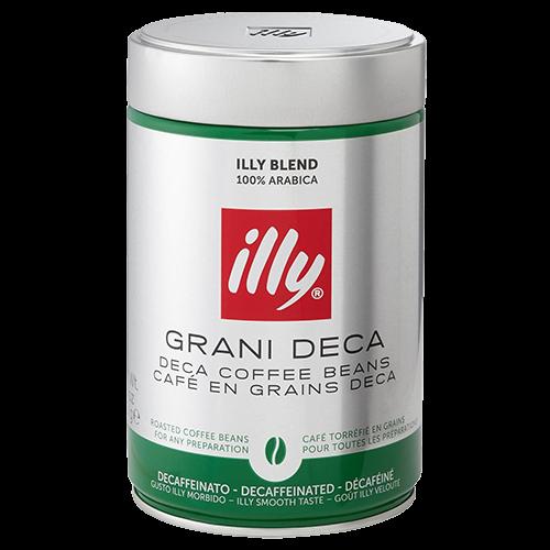 illy Espresso decaffeinato coffee beans 250g