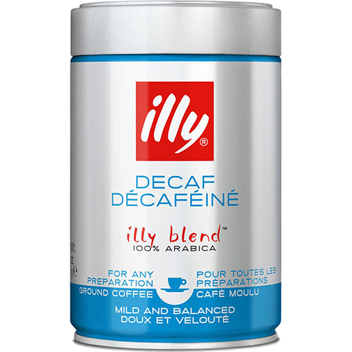 illy Espresso decaffeinato ground coffee 250g