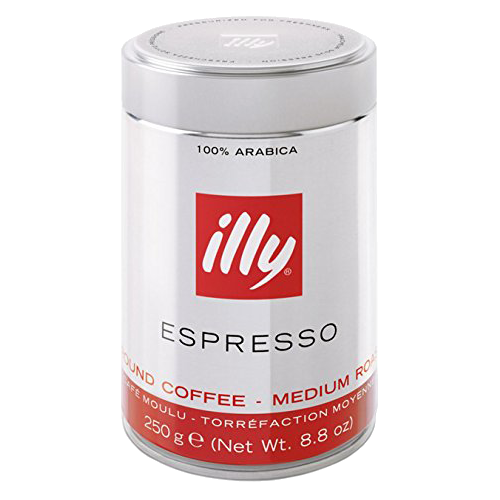 illy Espresso tincan ground coffee 250g
