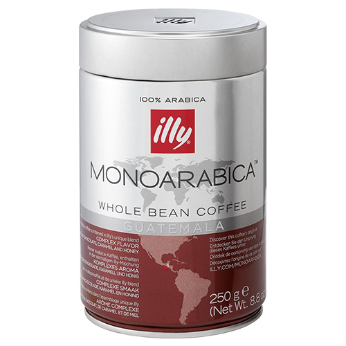 illy Espresso Monoarabica Guatemala coffee beans 250g